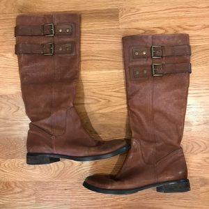 Nine West NW Tumble Riding Boots - Size 6.5
